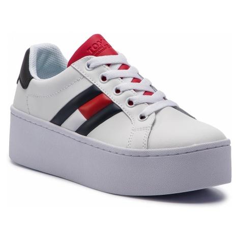 Sneakersy TOMMY JEANS - Icon Sneaker EN0EN00556 Rwb 020 Tommy Hilfiger
