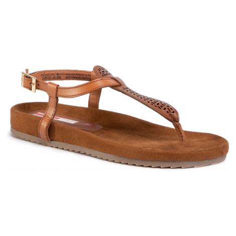 Sandały S.OLIVER - 5-28132-24 Cuoio 309
