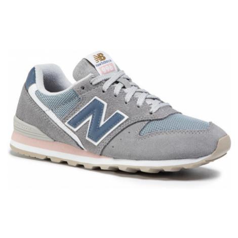 New Balance Sneakersy WL996WS Szary