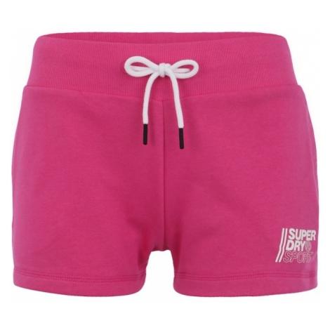 Superdry Spodnie sportowe różowy