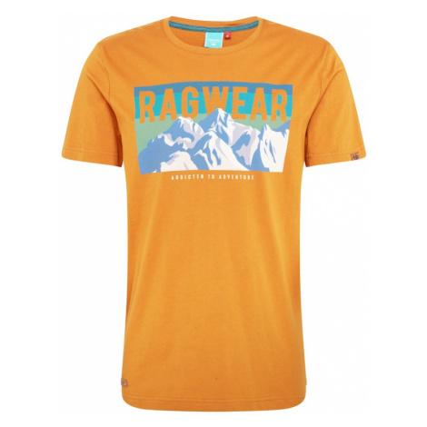 Ragwear Koszulka 'Addie' pomarańczowy / biały / niebieski