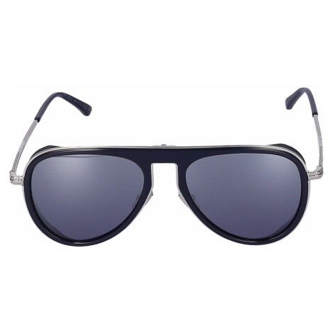 Jimmy Choo Men Sunglasses Aviator CARL/S PJP96 metal silver