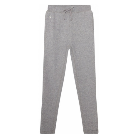 Polo Ralph Lauren Spodnie dresowe Fleece Leggi 312698768004 Szary Regular Fit
