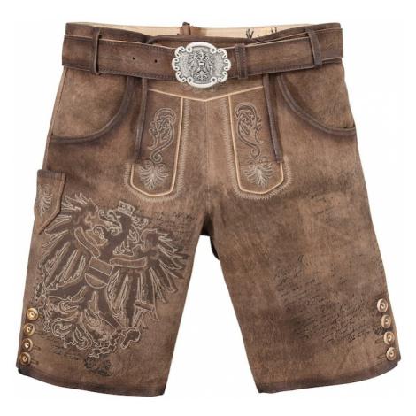 MARJO Spodnie ludowe brązowy