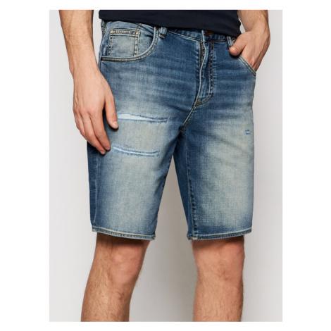 Armani Exchange Szorty jeansowe 3KZJ80 Z1LRZ 1500 Niebieski Slim Fit
