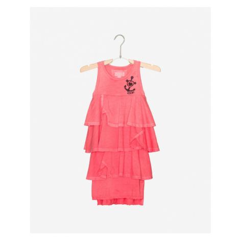 Diesel Sukienka dziecięca Różowy