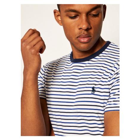 Polo Ralph Lauren T-Shirt Classics 710803536001 Biały Slim Fit