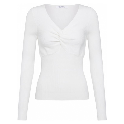 GLAMOROUS Sweter kremowy