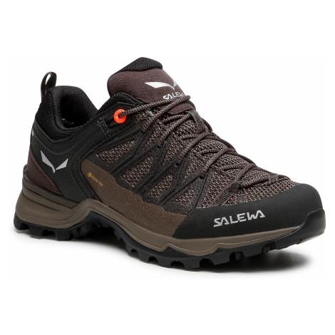 Trekkingi SALEWA - Ws Mtn Trainer Lite Gtx GORE-TEX 61362-7517 Wallnut/Fluo Coral