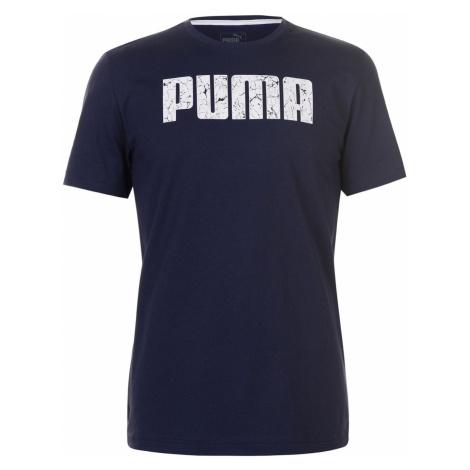 Puma No1 Logo T Shirt Mens