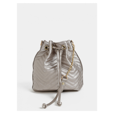 Beige bag crossbody handbag with metallic flares Haily ́s Tina Haily´s