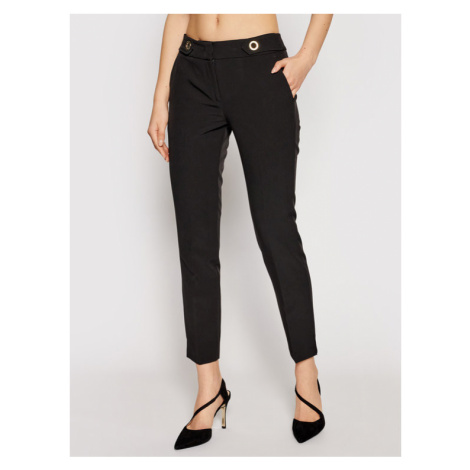 Trussardi Spodnie materiałowe 56P00283 Czarny Regular Fit