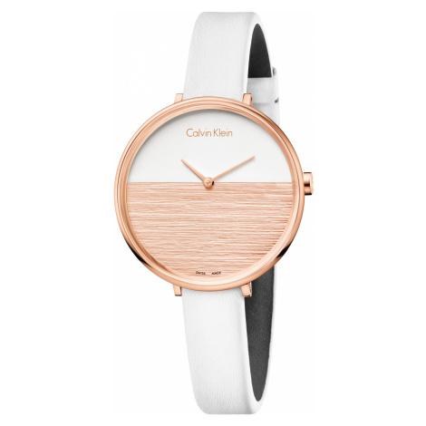 Calvin Klein Rise Zegarek Biały