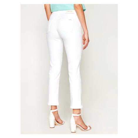 Calvin Klein Jeansy Slim Fit K20K201905 Biały Slim Leg