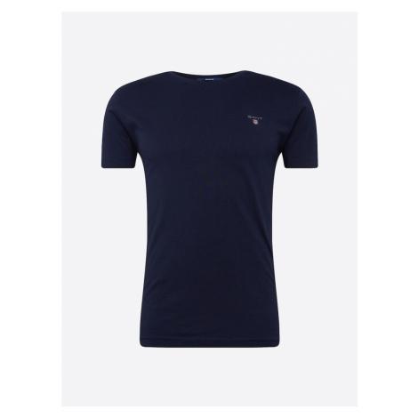 GANT Koszulka ciemny niebieski