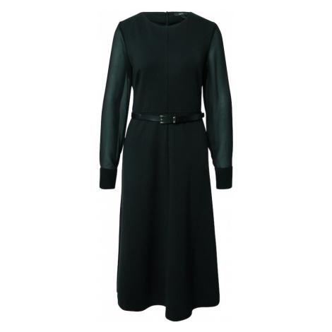 Esprit Collection Sukienka ciemnozielony