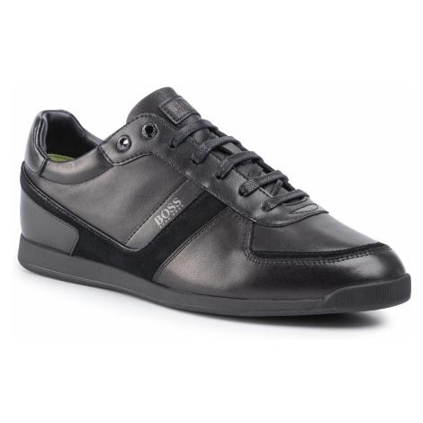 Sneakersy BOSS - Glaze 50407902 10214384 01 Black 001 Hugo Boss
