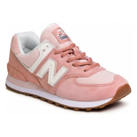 New Balance Sneakersy WL574SAZ Różowy