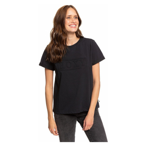 T-shirt Roxy Coastal Holidays - KVJ0/True Black