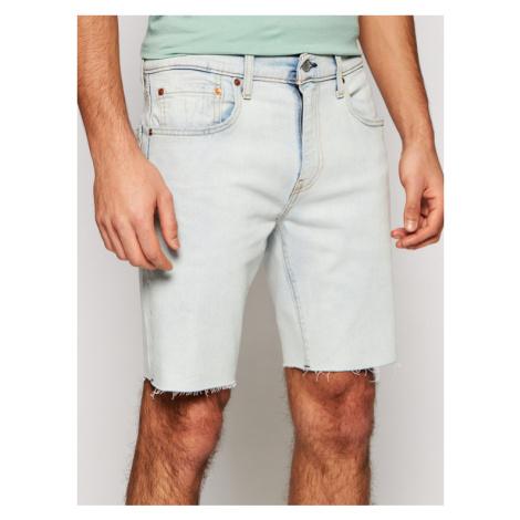 Levi's® Szorty jeansowe 412™ Niebieski Slim Fit Levi´s