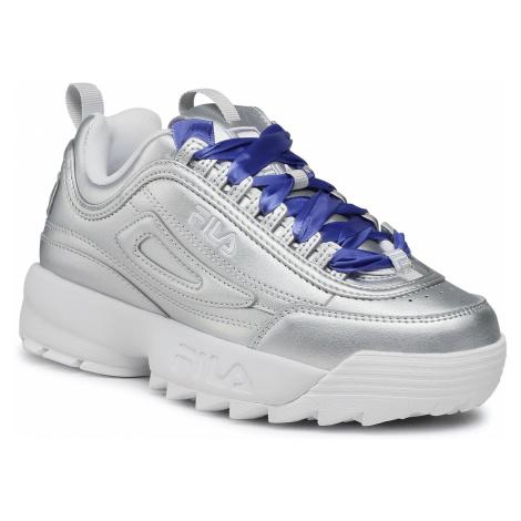Sneakersy FILA - Disruptor F Wmn 1011236.3VW Silver