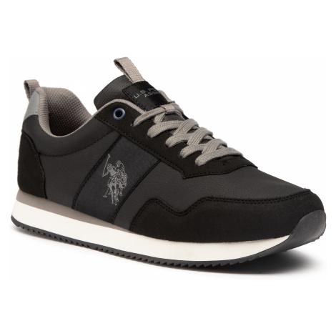 Sneakersy U.S. POLO ASSN. - Exte1 Club NOBIL4250S0/YH1 Blk/Grey