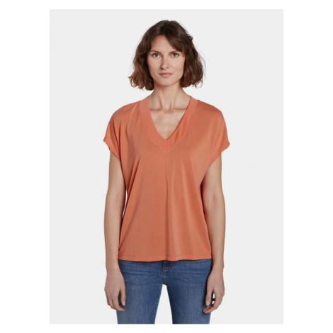 Tom Tailor Orange Women's T-Shirt