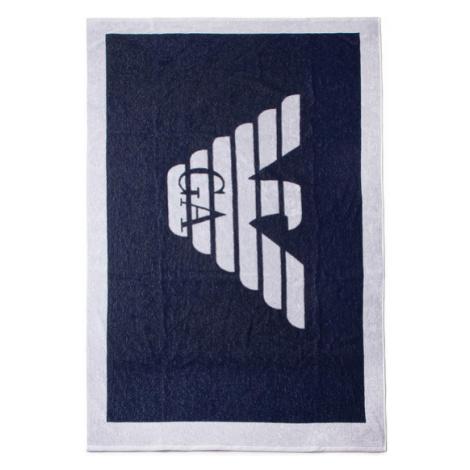 Emporio Armani Ręcznik 211772 0P445 06935 Granatowy