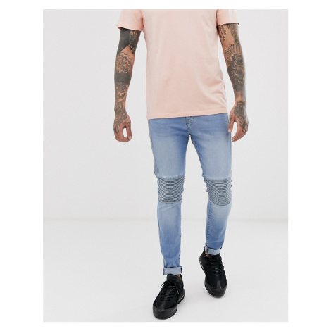 APT freddy biker jeans in super skinny fit