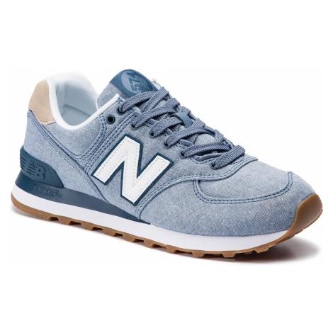 Sneakersy NEW BALANCE - ML574STB Niebieski
