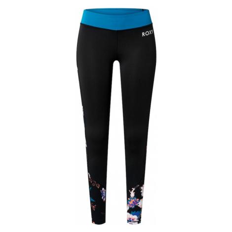 ROXY Spodnie sportowe czarny / ciemny niebieski / różowy pudrowy