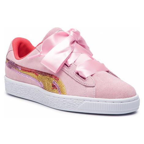Sneakersy PUMA - Suede Hrt Trailblazer Sqn Jr 368953 01 Pale Pink/Hibiscus