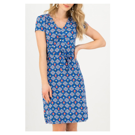 Blutsgeschwister niebieski sukienka Sally Tomato Windmolen Land