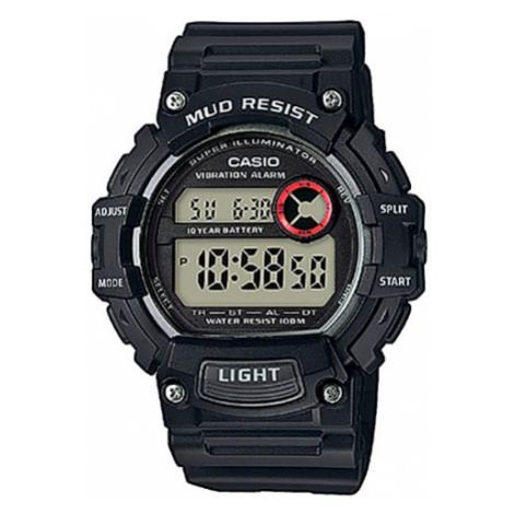 Zegarek CASIO - Mud Resist TRT-110H-1AVEF Black
