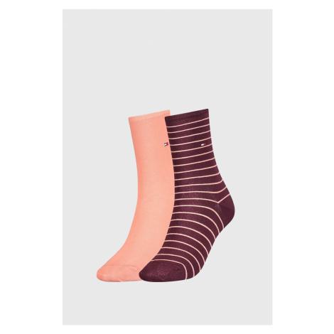 2 PACK damskich skarpetek Tommy Hilfiger Stripes