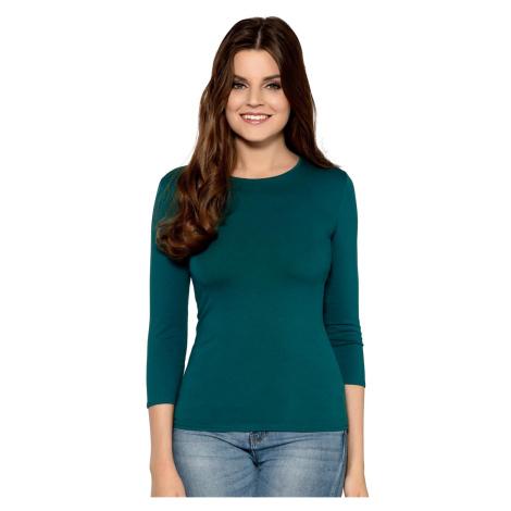Zielone damskie bluzki