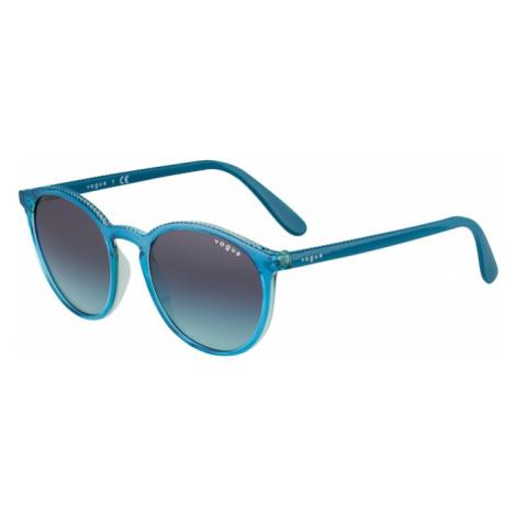VOGUE Eyewear Okulary przeciwsłoneczne benzyna / jasnoniebieski