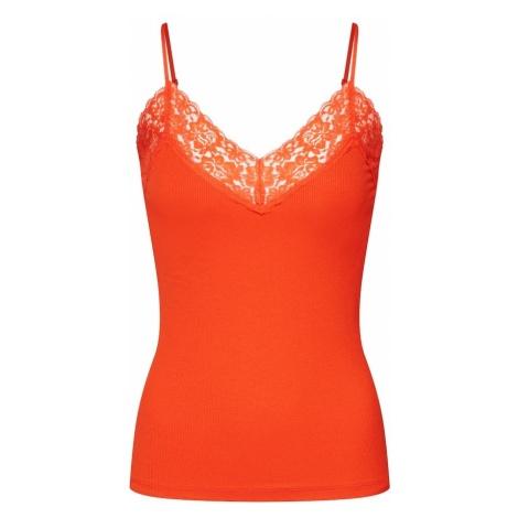 SELECTED FEMME Top 'MIO' pomarańczowo-czerwony