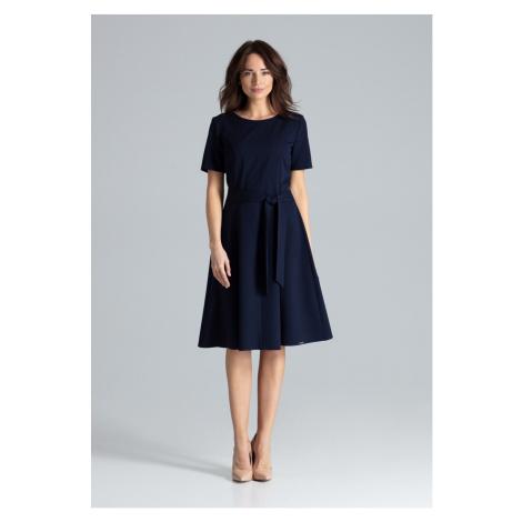Lenitif Woman's Dress L043 Navy