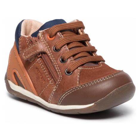 Sneakersy GEOX - B Each B.B B940BB 022CL C6427 Lt Brown/Lt Orange