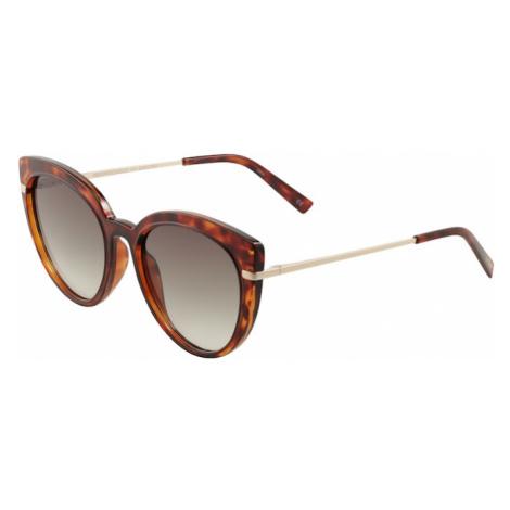 LE SPECS Okulary przeciwsłoneczne 'PROMISCUOUS' brązowy