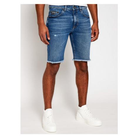 Versace Jeans Couture Szorty jeansowe A4GWA177 Niebieski Regular Fit