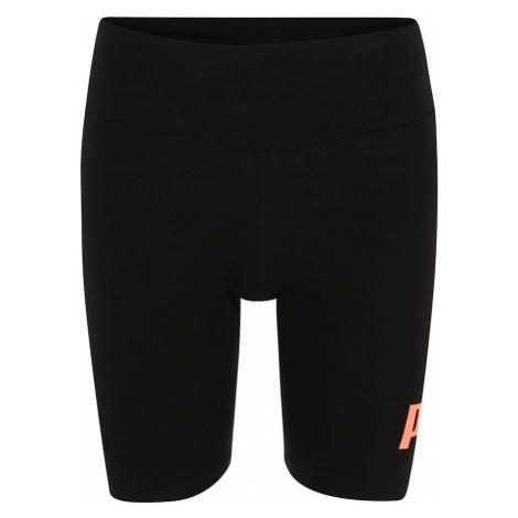 PUMA Spodnie sportowe czarny / koralowy