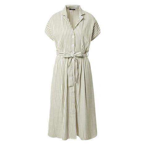Trendyol Sukienka koszulowa khaki / biały