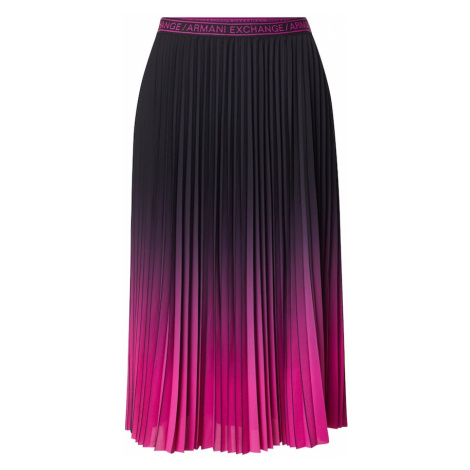 ARMANI EXCHANGE Spódnica różowy / czarny