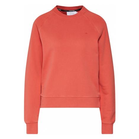 Calvin Klein Bluzka sportowa 'GARMENT DYE' pomarańczowo-czerwony