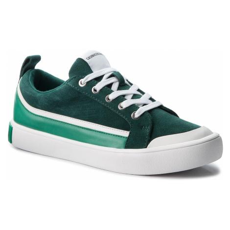 Trampki CALVIN KLEIN JEANS - Dino S1760 Green/White/Green