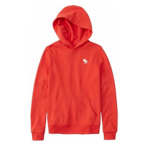 Abercrombie & Fitch Bluza czerwony