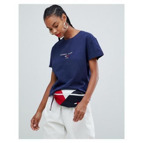 Tommy Jeans flag logo t-shirt Tommy Hilfiger