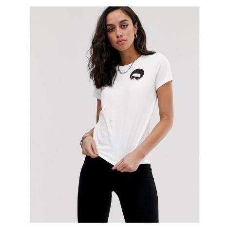 Karl Lagerfeld dots ikonik t-shirt